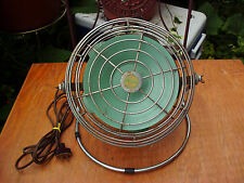 VINTAGE TRAV L AIR ADJUSTABLE SWIVEL ELECTRIC FAN MODERN UTILITIES CO. ST LOUIS