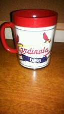 Vintage 1988 Thermo Serve St Louis Cardinals Mug