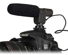 Stereo Microphone MIC For Canon T3i T2i 7D 5D 60D Nikon D3S D7000 DSLR DV K7 K5