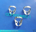6 Endodontic Rubber Dam Clamp #24 Surgical Dental Instruments