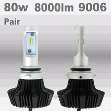 Philips 80W 8000LM 9006 HB4 Plug LED Headlight Kit Low Beam Bulbs Bulb 6000K US