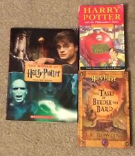HARRY POTTER 1-6 + PHILOSOPHER'S STONE+THE TALES OF BEEDLE THE BARD+poster book