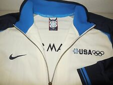 Nike Team USA Athletic Jacket Coat World Cup 2006 Italy Olympics Mens Large L