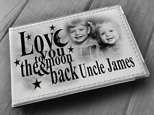 Personalised photo album, Memory book, Love you Uncle birthday christmas gift