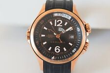 Hamilton Navy GMT Automatic World H775450 Time Crystal Back- Excellent