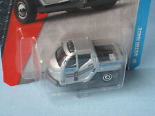Matchbox Meter Made British Police Car Silver Toy Model Car 50mm in BP