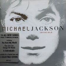 Michael Jackson Invincible Silver Cover Super Rare CD You Rock My World Cry