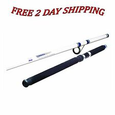 NEW Fishing Rod Pole Okuma Tundra TU120 Surf Glass 12ft Spinning Rods White Blue