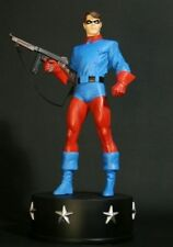 Bucky, World War II w/ Tommy Gun, Painted Statue  (Bowen Designs)