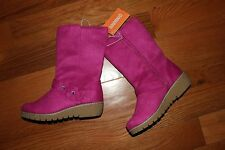 NWT Gymboree Fairy Tale Forest Size 13 Pink Faux Suede Flower Boots