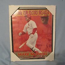 Mark McGuire St. Louis Cardinals MLB Baseball 1996 Refective Plaque Mirror