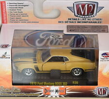 M2 MACHINES DETROIT-MUSCLE 1970 FORD MUSTANG BOSS 302 R30