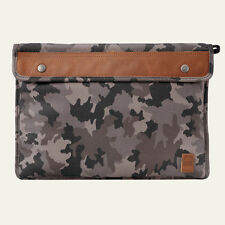 Timberland Unisex Natick Water-Resistant Camo Cotton Laptop Sleeve Style A1LE6