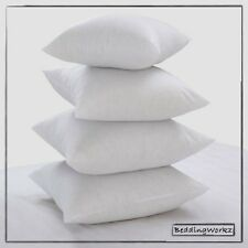 """17"""" x 17"""" Cushion pad Inners, Hollowfibre Scatter Cushions - Pack Of 2"""