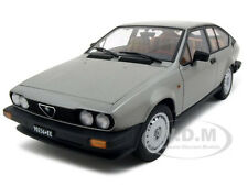 "1980 ALFA ROMEO ""ALFETTA"" GREY GTV 2.0 1/18 DIECAST MODEL CAR BY AUTOART 70147"
