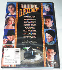 Bloodhounds of Broadway (DVD, 2004) Madonna, Matt Dillon, Jennifer Grey - NEW!