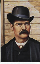 LEGENDS OF THE WEST POSTAL CARD BAT MASTERSON