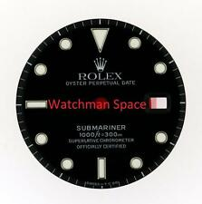 Original Men's Rolex Submariner Date Gloss Black Dial 16800 16610 S/S #A15