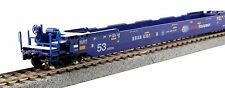 Kato 30-9047, HO Scale Gunderson MAXI-IV Well 3 Unit Car Set, Pacer, 309047