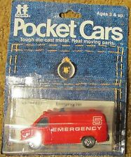 1979 TOMY / Tomica Pocket Cars Chevy Emergency Van No. 207-F22 Assort. No. 4503