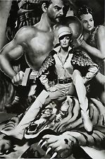 Helmut Newton Sumo Photo Print XXL Fashion Yves Saint Laurent Queen 1966 Twiggy