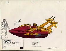 G.I. GI Joe Pirahna Cel Art 80-90's Cartoon 1990 Dic Animation City