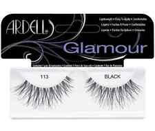 (LOT OF 3) Ardell Glamour Lashes #113 False Fake Eyelashes Fashion Black Wispy
