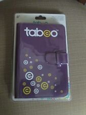 TABEO PURPLE FOLIO CASE WITH STAND - NEW