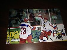 Ivan Barbashev SIGNED 4x6 photo MONCTON WILDCATS / RUSSIA / ST LOUIS BLUES #6