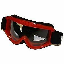 Bike It WSG Kids Childrens Quad MX Motorcross Goggles Red One Size BC25963 T
