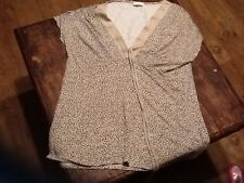 Marks & Spencers Size 14 Womens Cheetah Print Top