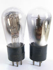2 matched Cunningham C-327 Globe (27,227) tubes - TV7B tested@38, 38, min:25