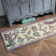 Disney Kitchen Carpet Rug Alice in Wonderland 18x60 inch from Japan New