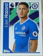 66 Eden Hazard CHELSEA 2016/2017 Topps Merlin Premier League sticker