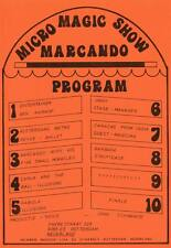 MICRO MAGIC SHOW - A5 size Leaflet from Rotterdam, Holland - undated