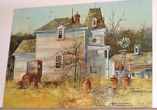 Gone For The Summer Lithograph Print Frank M Hamilton Litho 309