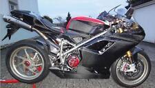 Ducati 1098  S 848 Carbon Verkleidung Seitenverkleidung
