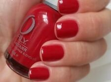 NEW! ORLY nail polish lacquer RED FLARE ~ Candy Apple Red ~ full size