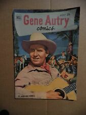 Gene Autry Dell Comics (Western) - August, 1951