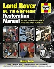 Land Rover 90 110 Defender Haynes restoration manual Restauration Hand-Buch book