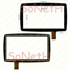 "Vetro Touch screen Digitizer 7,0"" Lisciani Barbie Mio Tab Nero"