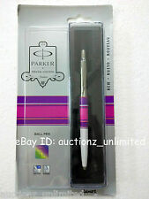Parker Jotter Special Edition CT Ball Pen Circle Purple/Pink New Sealed orginal