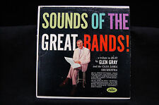 "GLEN GRAY, SOUNDS OF THE GREAT BANDS, CAPITOL W1022 12"" VINYL RECORD, 33-1/2 RPM"