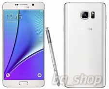 "Samsung Galaxy Note 5 N920C White 32GB OCTACORE 4GB RAM 5.7"" 16MP Phone By FedEx"