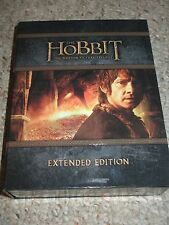 The Hobbit: Motion Picture Trilogy (Blu-ray Disc, 2015, 9-Disc Set, Extended)