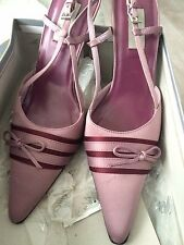 Wallis Shoes And Bag Pink Purple size 6