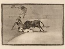 FRANCISCO DE GOYA UNLUCKY DEATH OF PEPE ILLO IN RING ART PRINT BB5347A