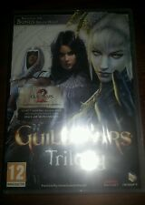 Brand new factory sealed Guild Wars Trilogy 3 full PC games
