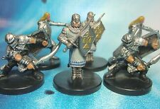 Dungeons & Dragons Miniatures Lot  City Guards Town Guards !!  s104