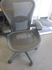 1 Herman Miller Aeron Chair Open Box  Display Model  Some Minor Scratches